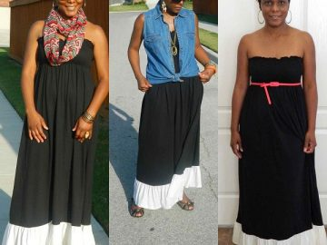 How To Wear Long Dresses