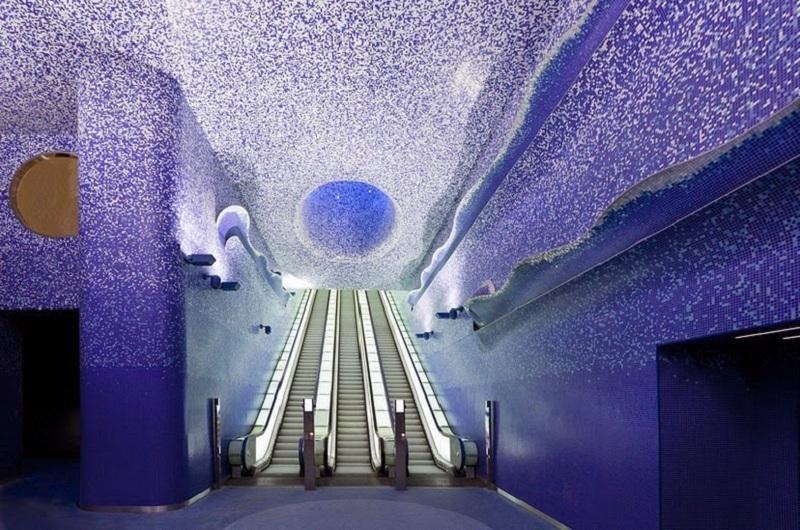 Naples metro station