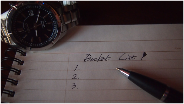 5 reasons to create your bucket list today