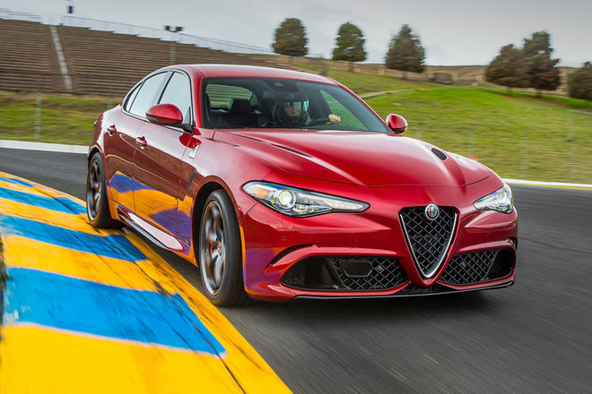 They Are Delivering The First Alfa Giulia Quadrifoglio And This Genius Has Already Shattered His