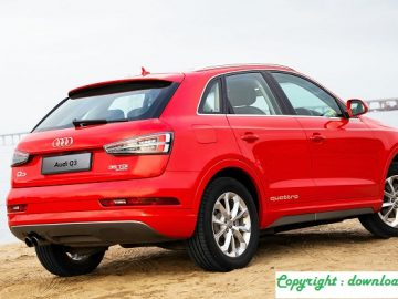 Test Audi Q3 Sport Edition 20 TFSI quattro S tronic 220 hp The engine of the Golf GTI in an SUV