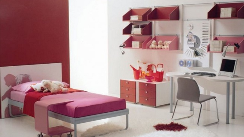 Design Of A Children's Room For A Girl And A Boy