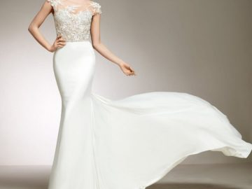 """How to choose the perfect wedding dress """"fish""""?"""