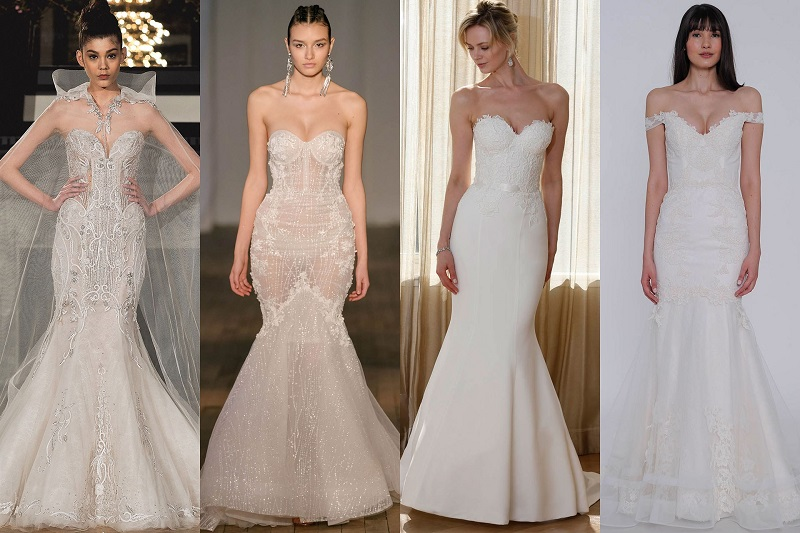 "How to choose the perfect wedding dress ""fish""?"