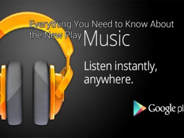 Upload all your music to the cloud with Google Play Music