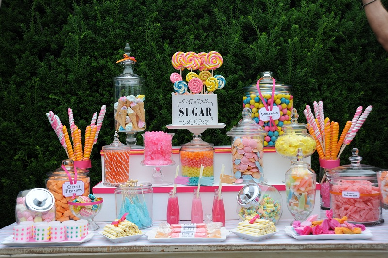 Ideas For Candy Bars For Children's Parties