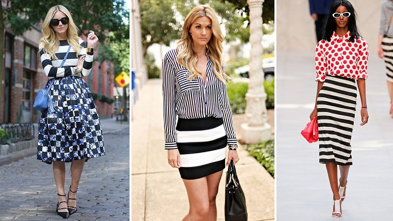 The Combination Of Strips In Clothes